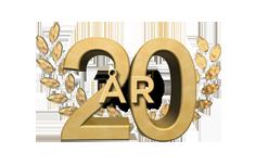 20-jubileums Banner
